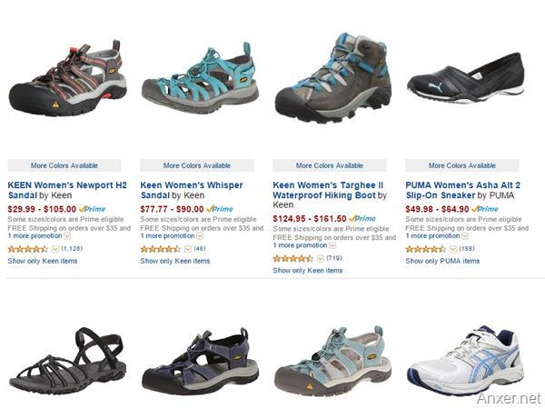 Amazon zapatos deportivos en dolares