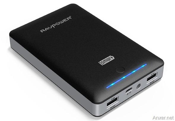 RAVPower-Deluxe-Bateria-Externa-Portatil-de-15000mAh-en-Amazon