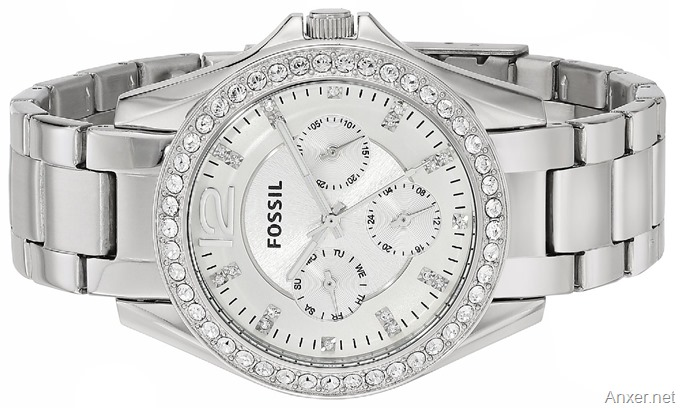 Fossil Women s ES3202 Riley Multifunction Stainless Steel Watch. bello-reloj -fossil-para-dama-amazon 79dff862449c
