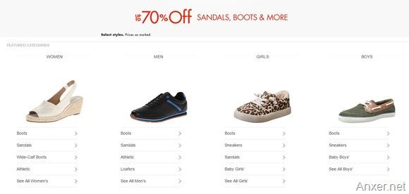 892d7e7d Ofertas de hasta 70% en zapatos, sandalias, botas y más en Amazon ...