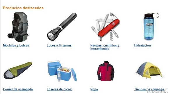 rebaja-amazon-espana-acampada-senderismo