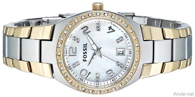 reloj-fossil-dama-dos-tonos-amazon